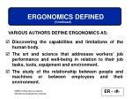 ergonomics defined4