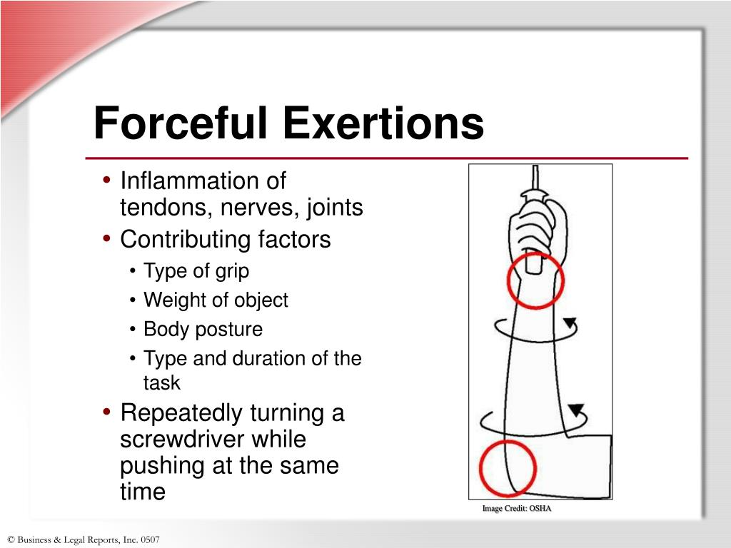 Forceful Exertions