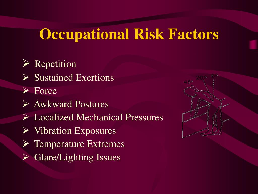 Occupational Risk Factors