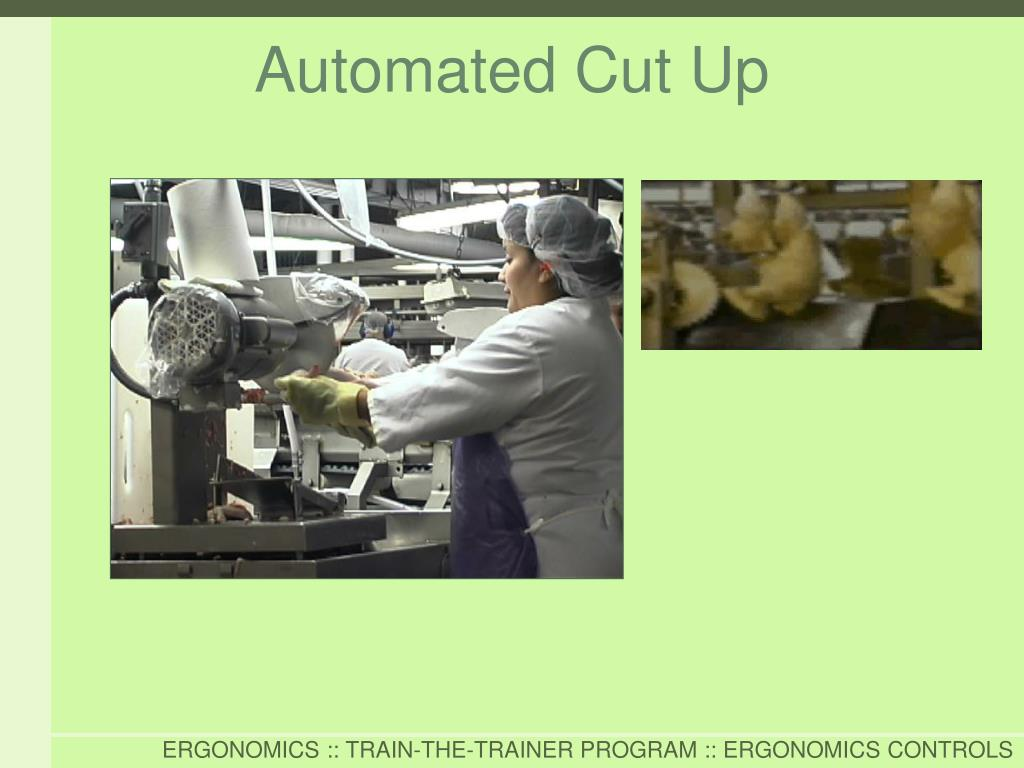Automated Cut Up