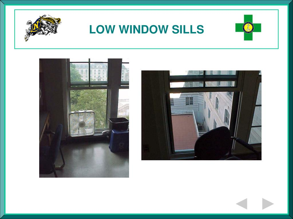 LOW WINDOW SILLS