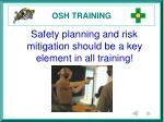 osh training