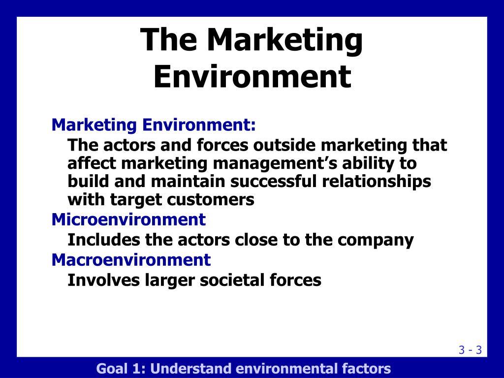 environmental factors affecting global marketing