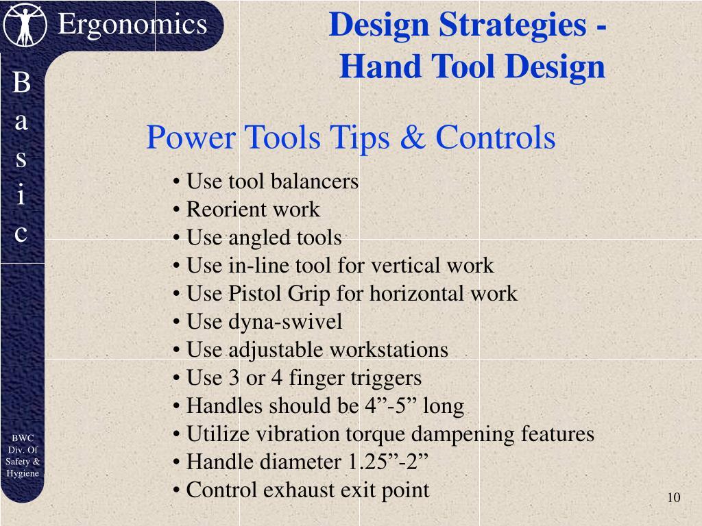 Design Strategies -