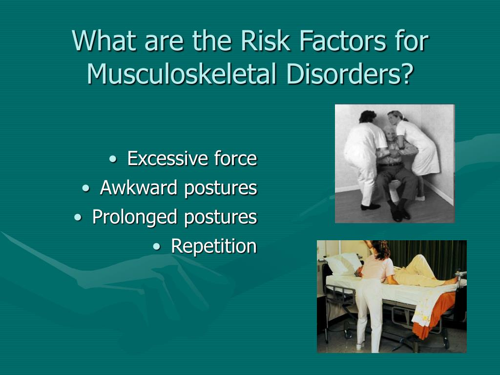 What are the Risk Factors for Musculoskeletal Disorders?