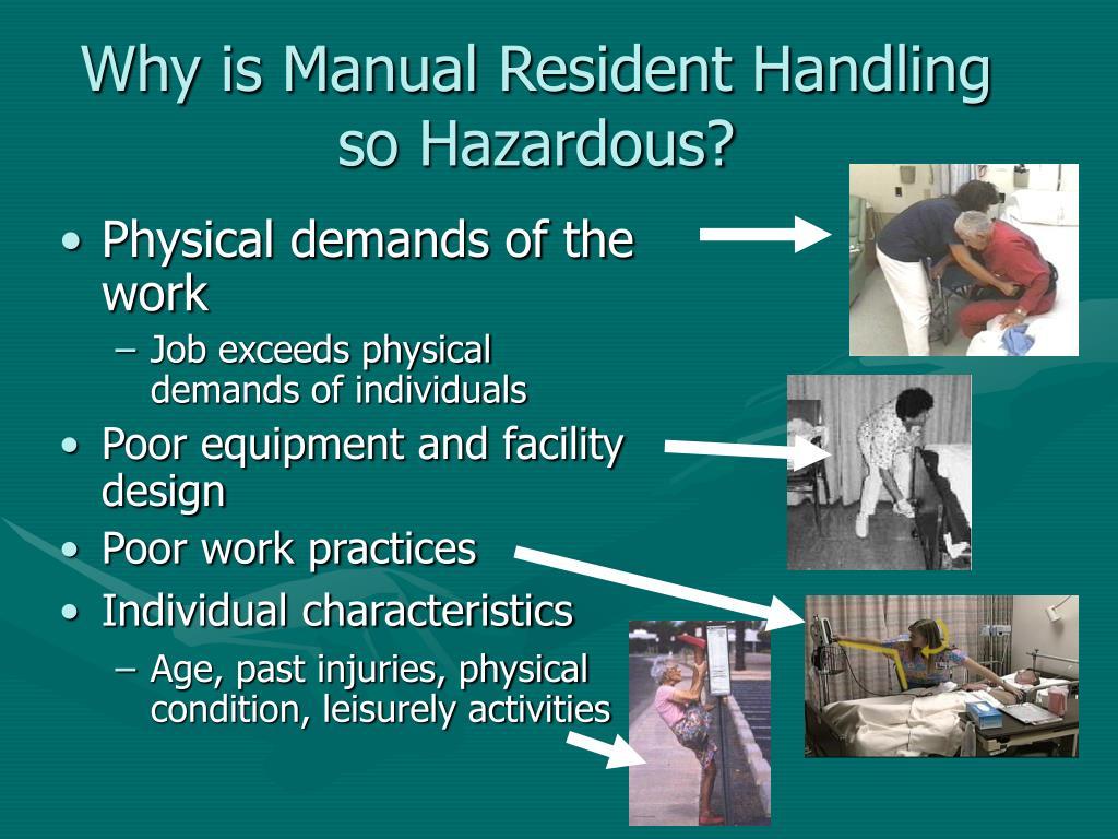 Why is Manual Resident Handling so Hazardous?
