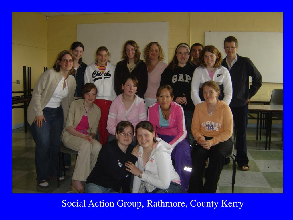 Social Action Group, Rathmore, County Kerry