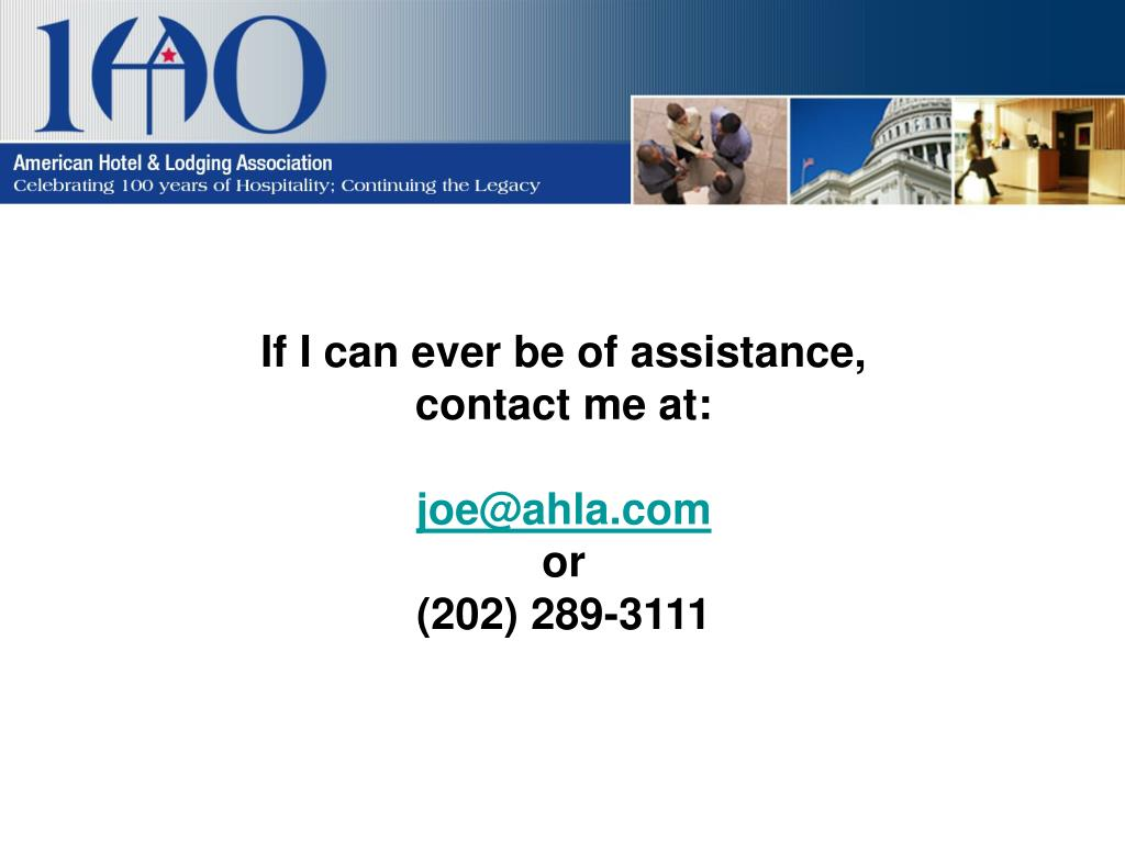 If I can ever be of assistance,