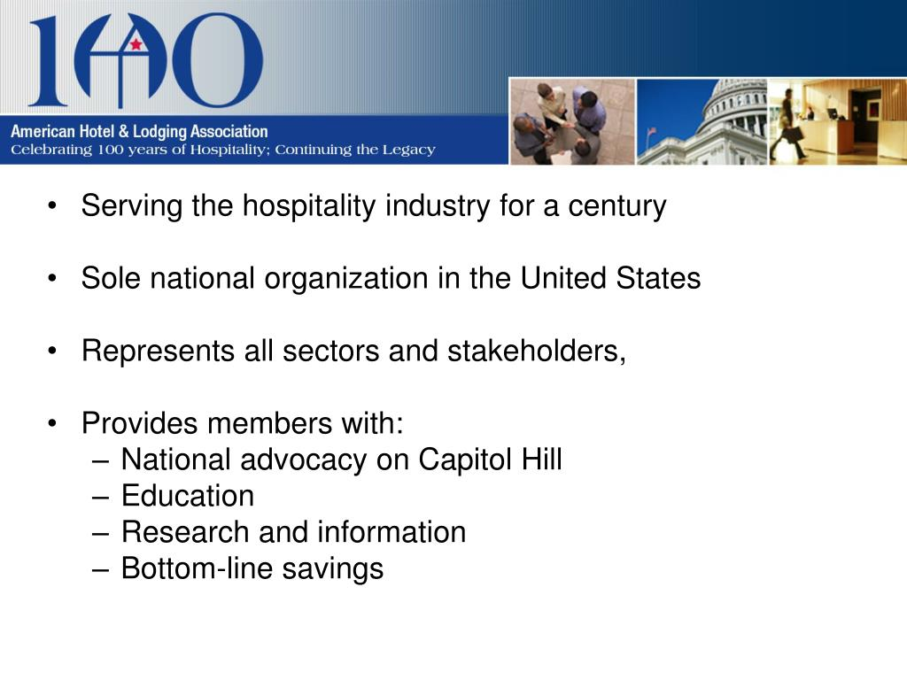 Serving the hospitality industry for a century
