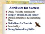 attributes for success