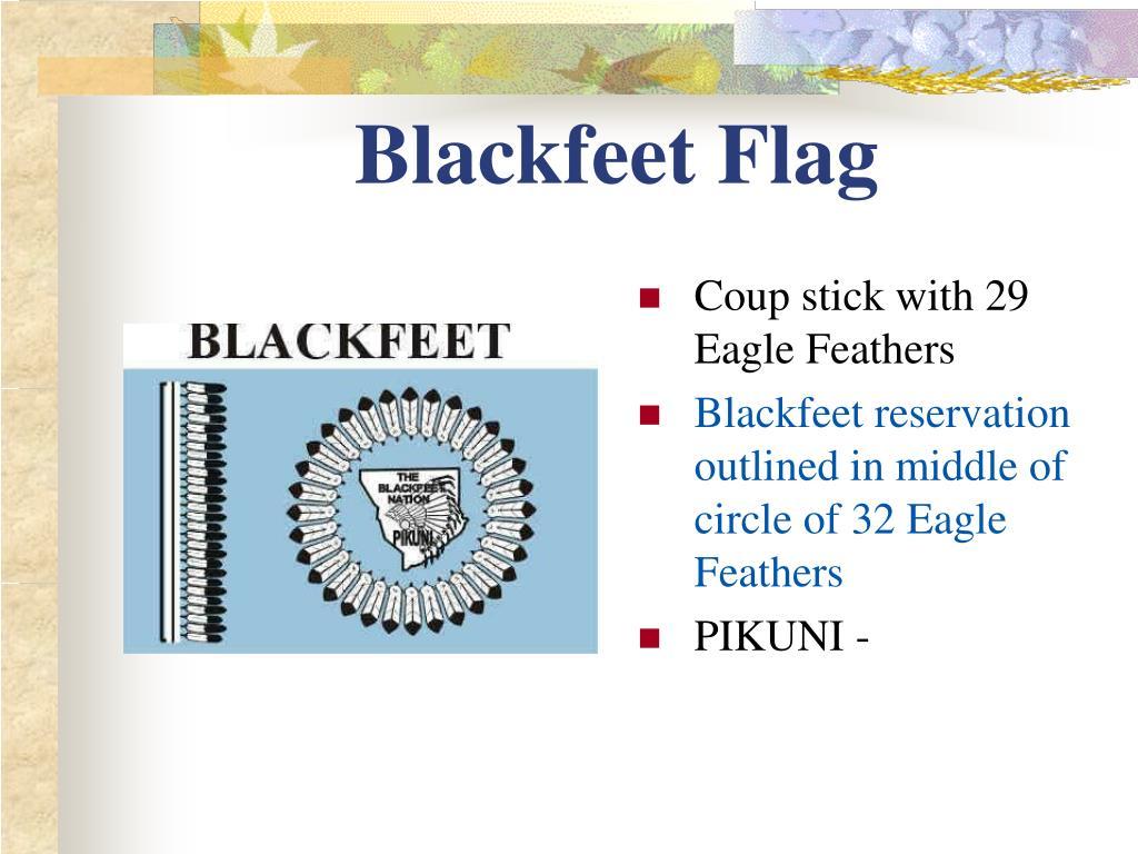 Blackfeet Flag