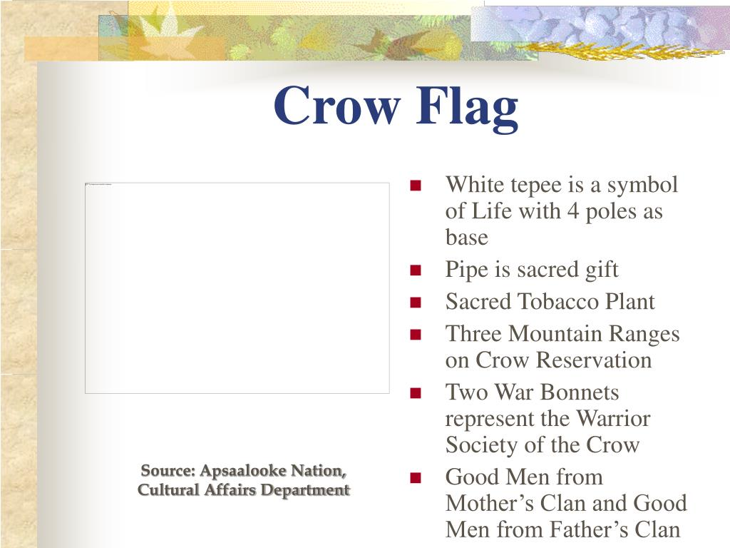 Crow Flag