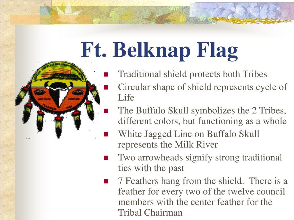 Ft. Belknap Flag