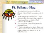 ft belknap flag