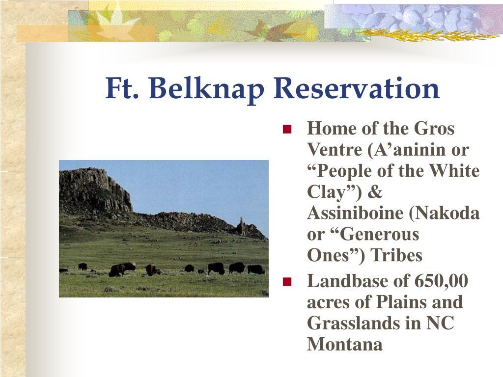 Ft. Belknap Reservation