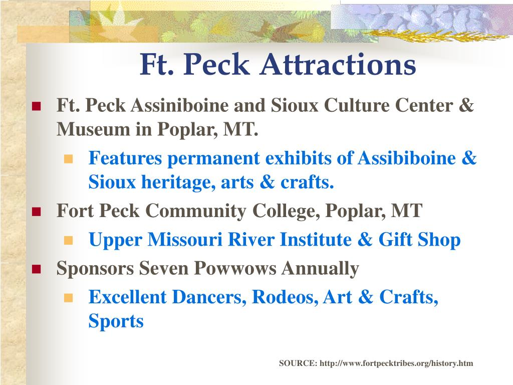 Ft. Peck Attractions