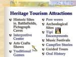 heritage tourism attractions