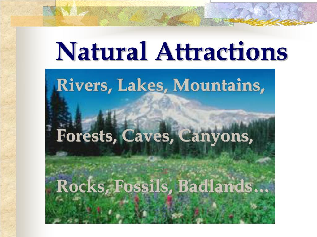 Natural Attractions