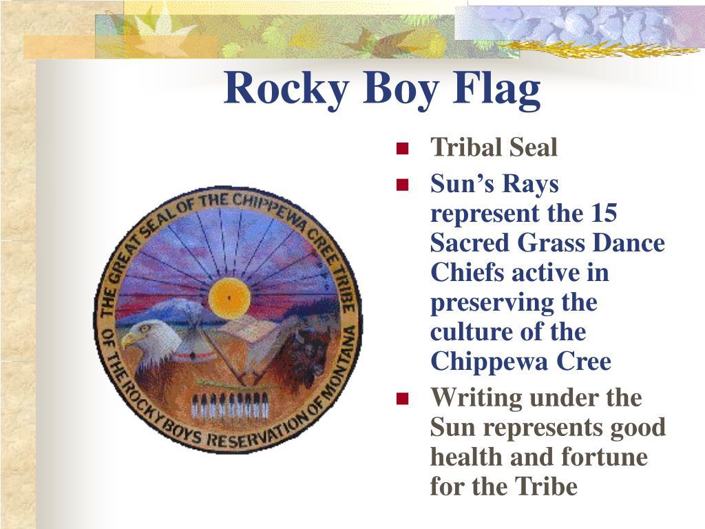 Rocky Boy Flag