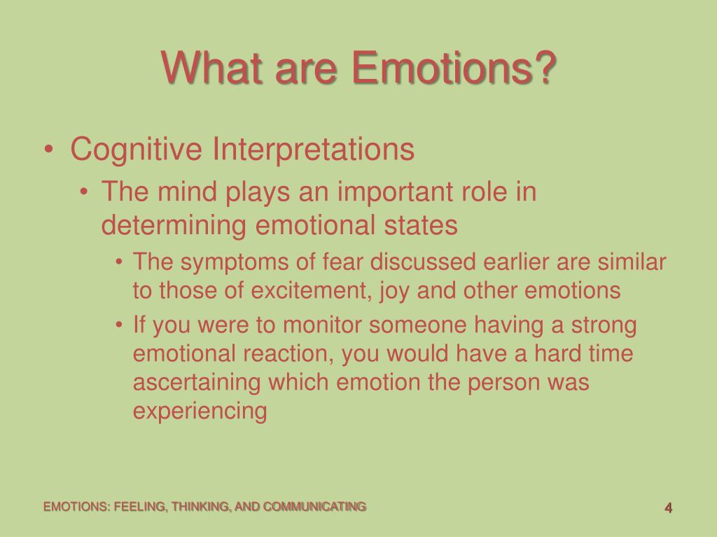 What are Emotions?