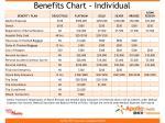 benefits chart individual