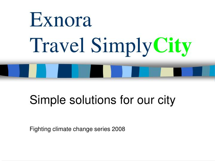 exnora travel simply city n.