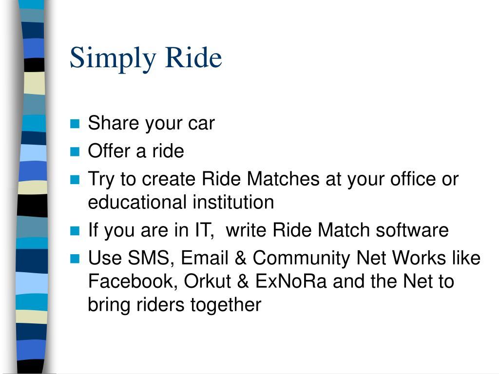 Simply Ride