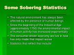 some sobering statistics