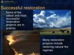successful restoration