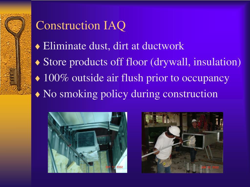 Construction IAQ