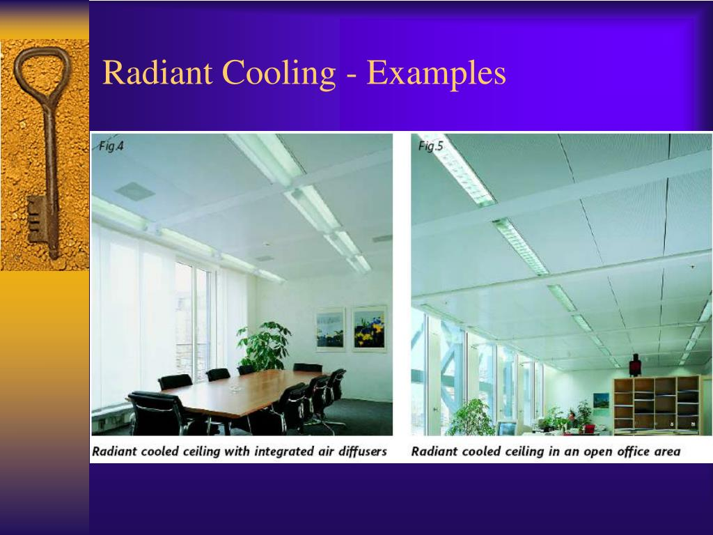 Radiant Cooling - Examples