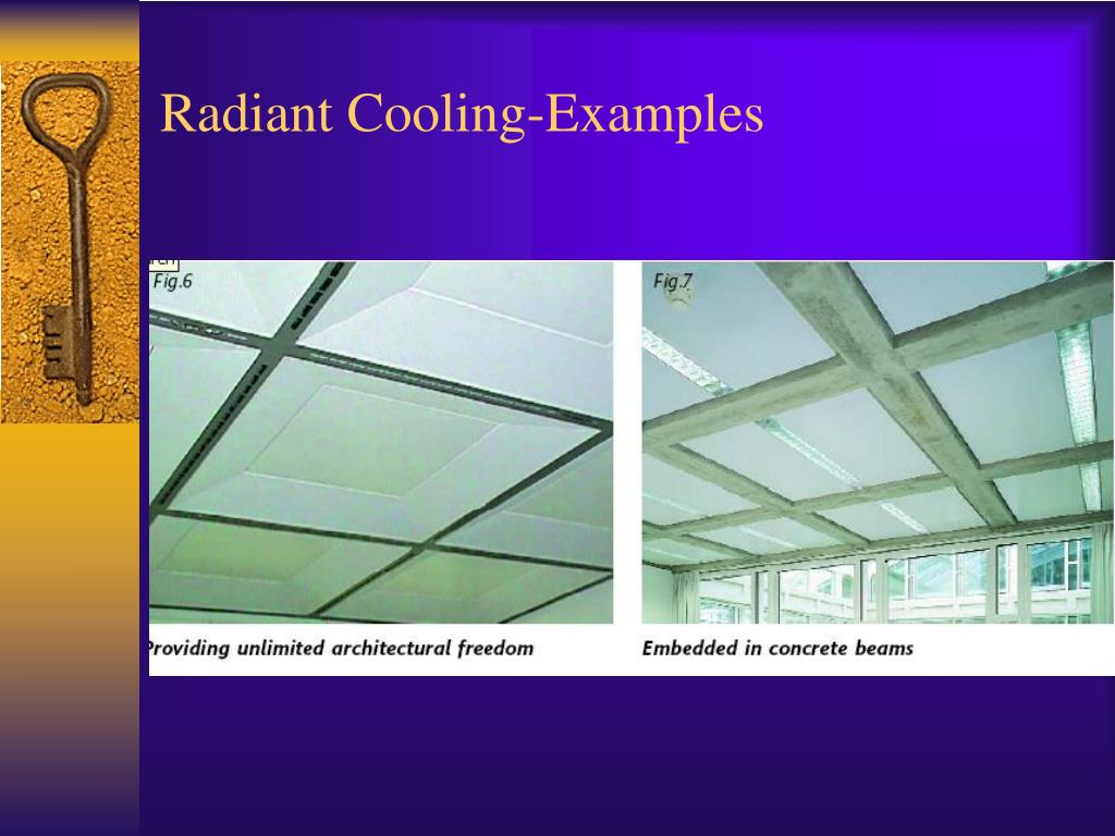 Radiant Cooling-Examples