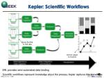 kepler scientific workflows