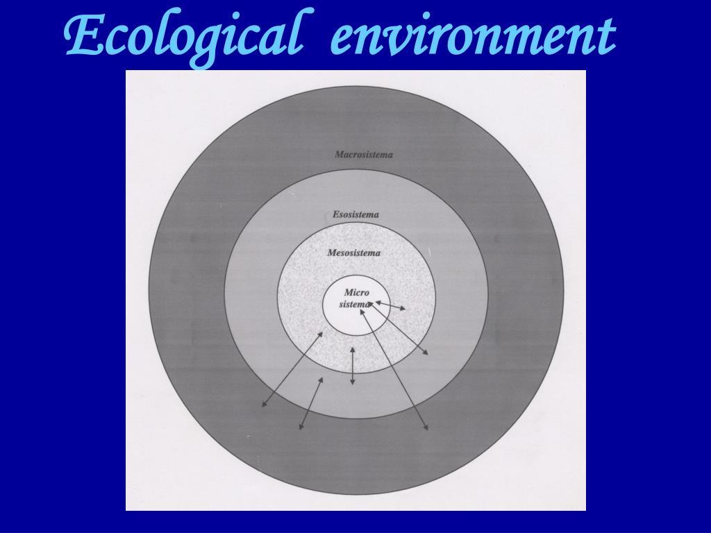 Ecological  environment