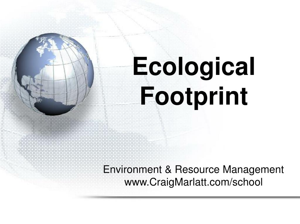 ecological footprint l.