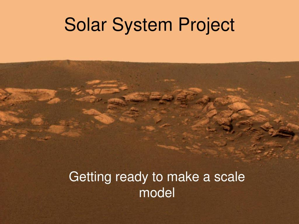 solar system project l.