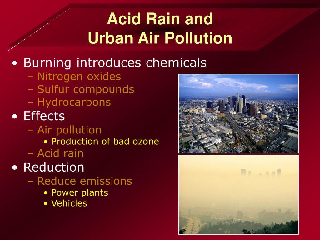 Acid Rain and