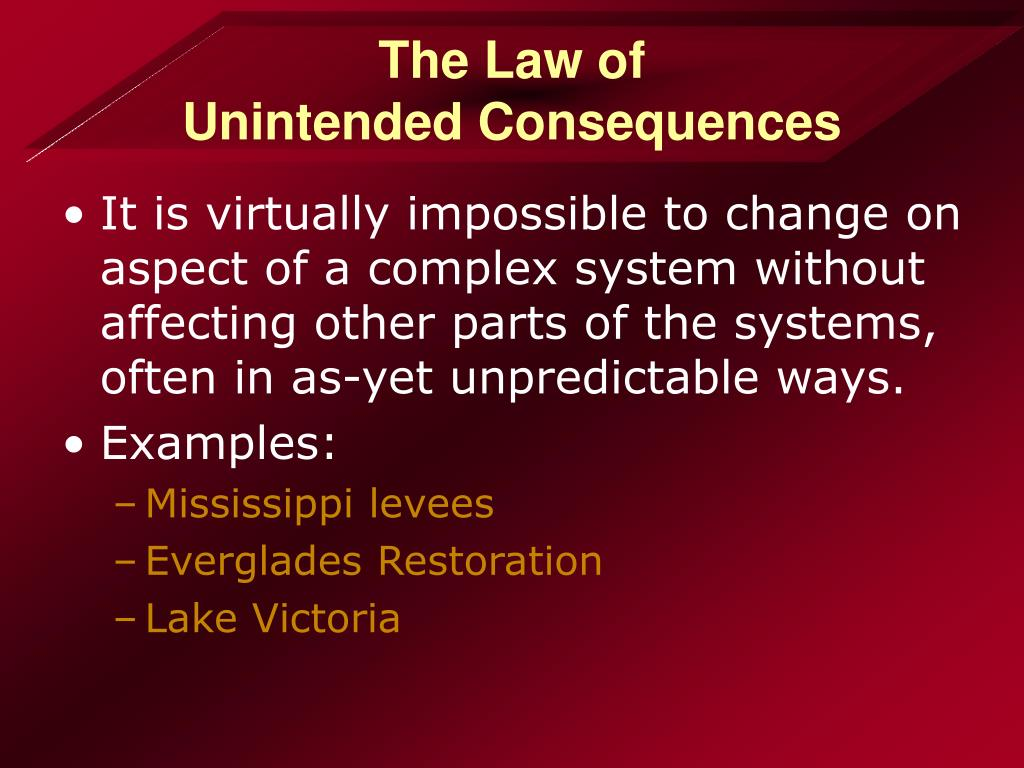 The Law of