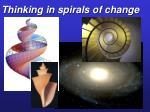 thinking in spirals of change