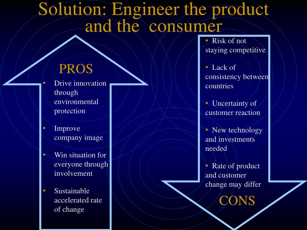 Solution: Engineer the product