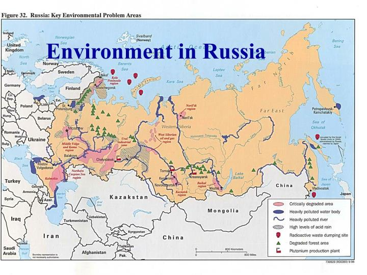environment in russia n.