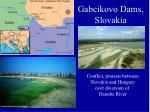 gabcikovo dams slovakia