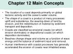 chapter 12 main concepts