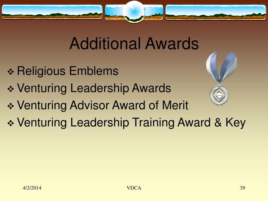 Additional Awards