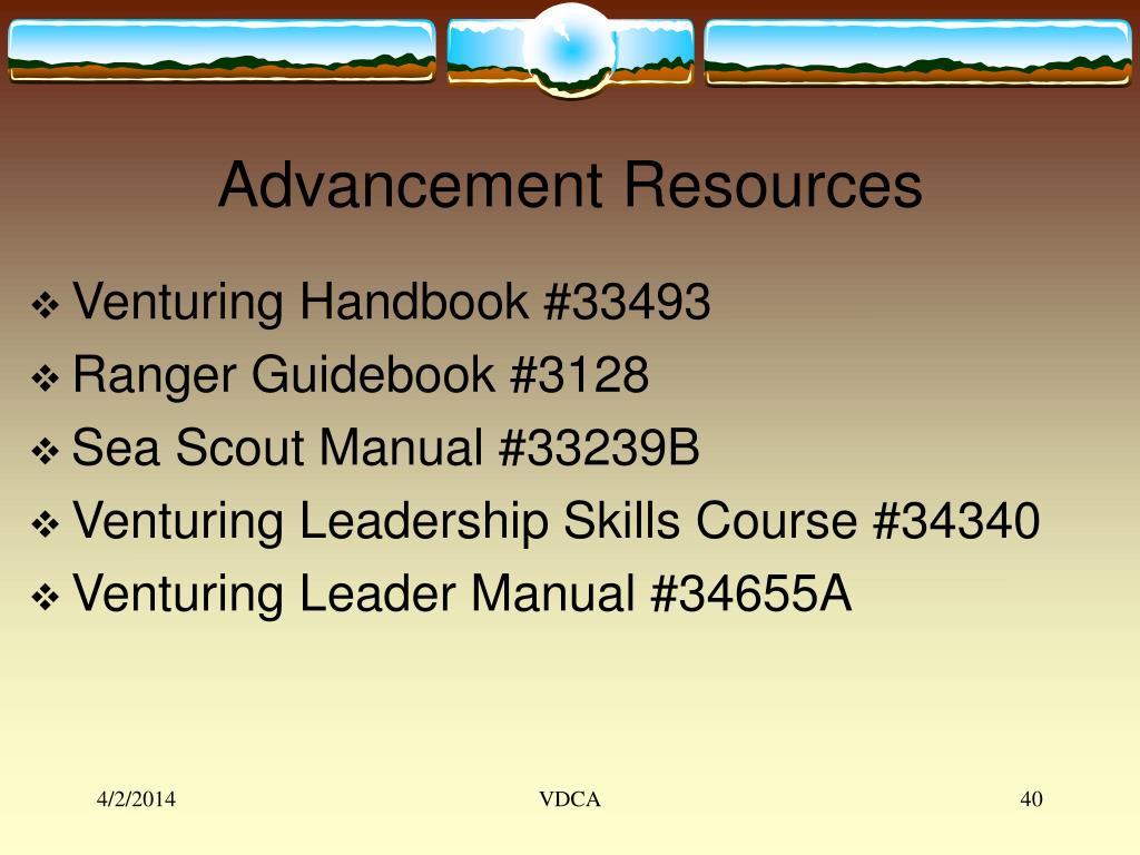 Advancement Resources
