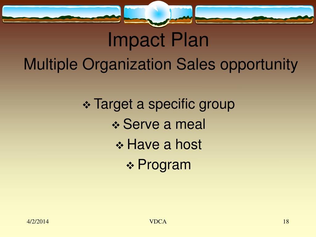 Impact Plan