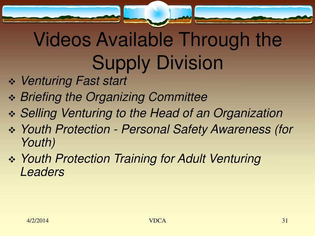 Videos Available Through the Supply Division