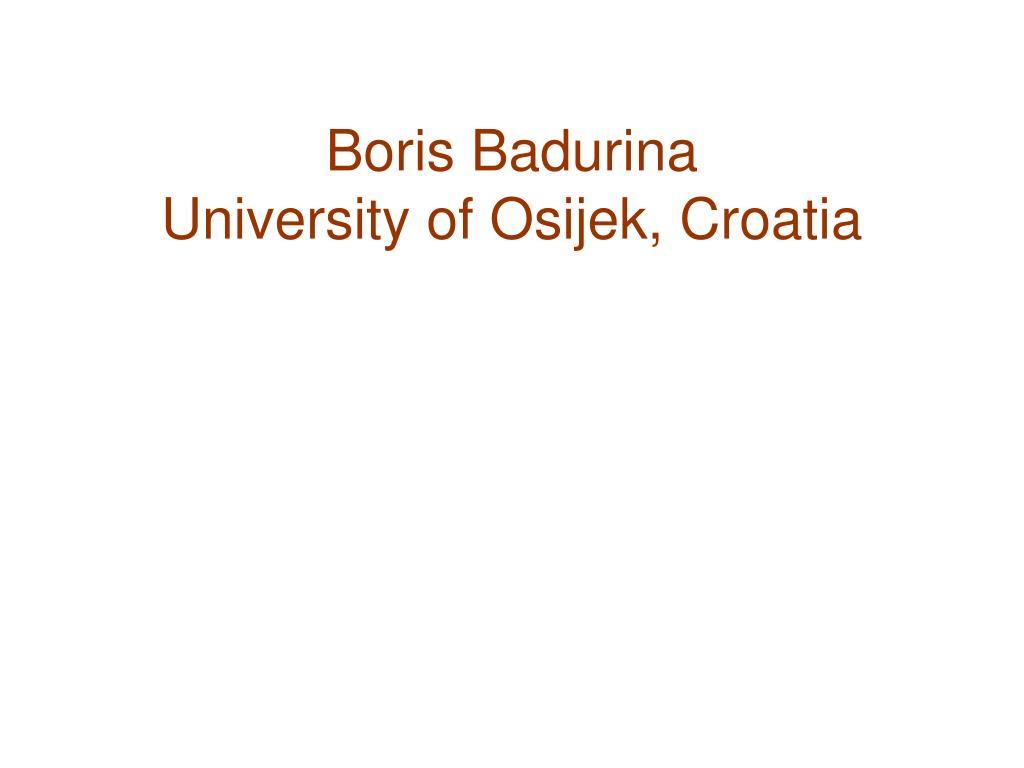 Boris Badurina