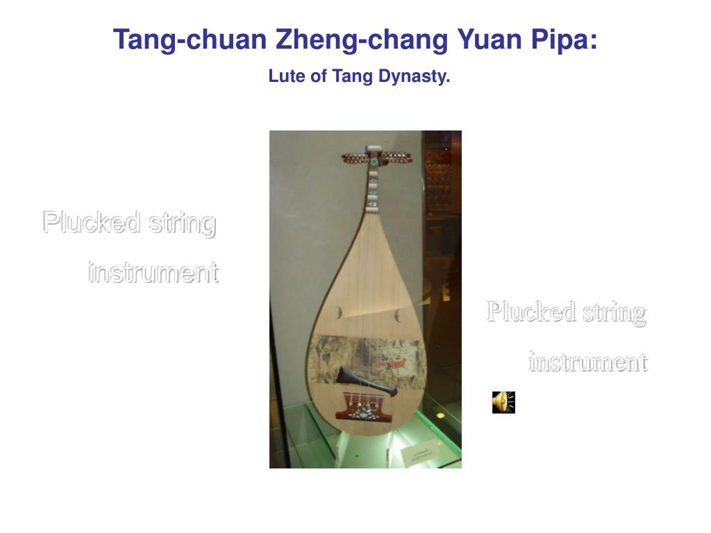 Tang-chuan Zheng-chang Yuan Pipa: