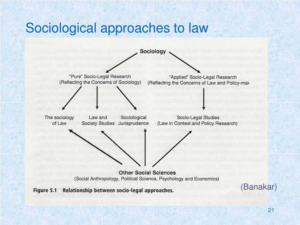 Sociological approaches to law